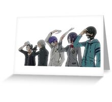 Anime: TOKYO GHOUL Greeting Card