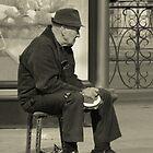 Mr Tambourine Man... by Nikolay Semyonov