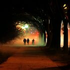 Night Fog in the City by Francesa