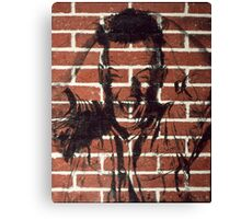 The Screaming Wall 1984 Canvas Print