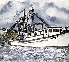 shrimp boat by derekmccrea