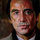 portrait of Al Pacino by Hidemi Tada