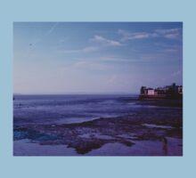 Blue hour on the  UK Beach.. T-Shirt