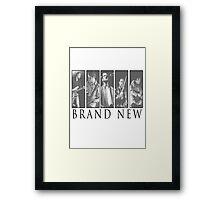 Brand New - Members Framed Print