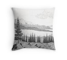 Emerald Bay at Lake Tahoe, California Throw Pillow