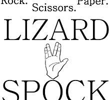 ROCK PAPER SCISSORS LIZARD 2 by Divertions