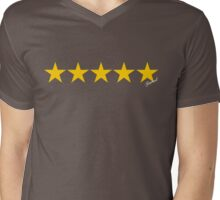 5 Star General Mens V-Neck T-Shirt
