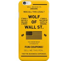 Wolf Of Wall Street iPhone 6 Case iPhone Case/Skin
