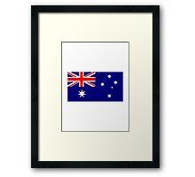 Australia flag Framed Print