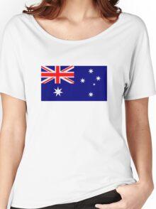 Australia flag Women's Relaxed Fit T-Shirt