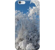 Beautiful Frost and Snow...Christmas Morning 2014 iPhone Case/Skin