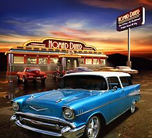 Nomad Dining by Keith Hawley