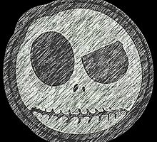 Jack Skellington Skull evil smiley by JoCa-byJoeCarr