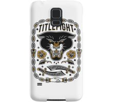 Title Fight - Panther Samsung Galaxy Case/Skin