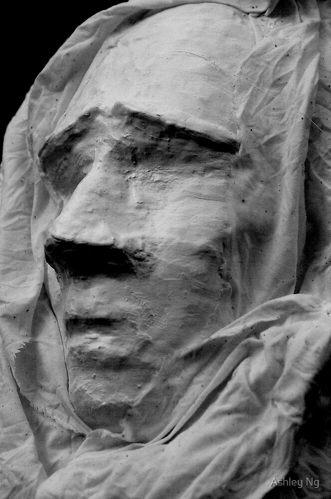 il volto in un sudario by Ashley Ng