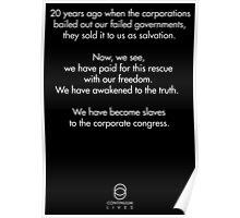 Continuum - Kagame quote Poster