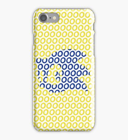 Sonic and Rings Design (White Background) iPhone Case/Skin