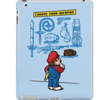 Weapon of Choice iPad Case/Skin