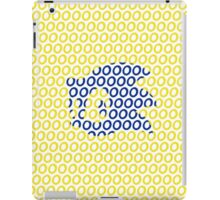 Sonic and Rings Design (White Background) iPad Case/Skin
