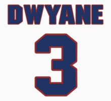 Basketball player Dwyane Wade jersey 3 by imsport