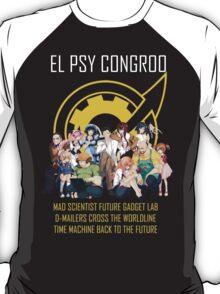 Steins;Gate Psy Congroo T-Shirt