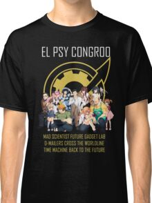 Steins;Gate Psy Congroo Classic T-Shirt