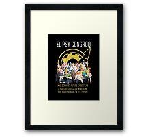 Steins;Gate Psy Congroo Framed Print