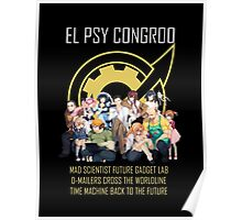 Steins;Gate Psy Congroo Poster