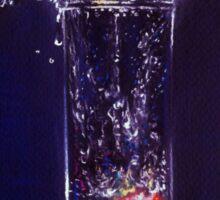 Splashing warter reflection Sticker