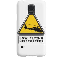 Low Flying Helicopters (1) Samsung Galaxy Case/Skin