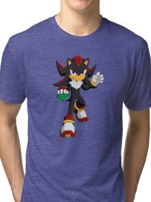 Shadow the Hedgehog Tri-blend T-Shirt