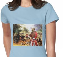 Airedale Terrier Art - The affair cavaliers Womens Fitted T-Shirt