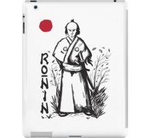 Ronin iPad Case/Skin