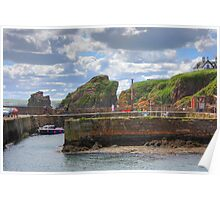 St. Abbs Harbour Poster