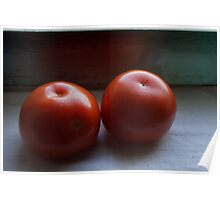 Tomatoes Placed Poster