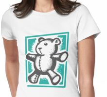 VitruvianTeddy Womens Fitted T-Shirt