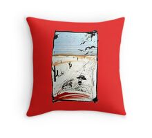 FEAR AND LOATHING IN LAS VEGAS Throw Pillow