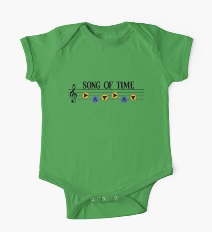 Song of Time- The Legend of Zelda Ocarina of Time One Piece - Short Sleeve