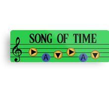Song of Time- The Legend of Zelda Ocarina of Time Metal Print