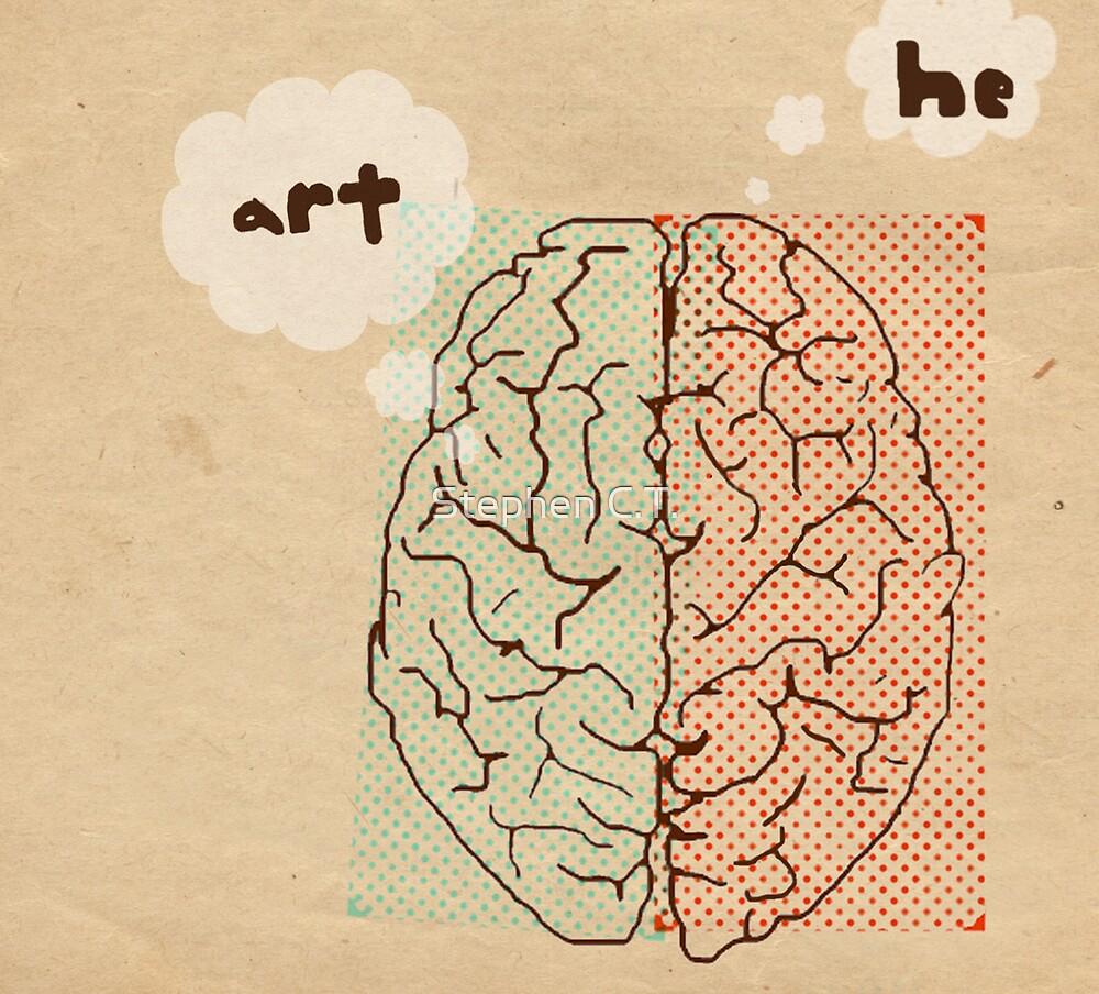 art... he. by Stephen C.T.