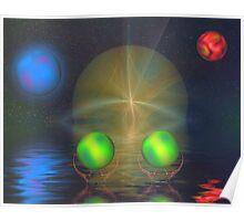 Orbital reflections Poster