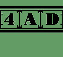 4AD Records logo (black) by Magnus556