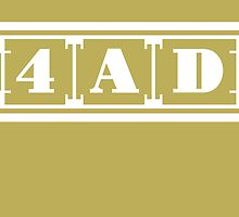 4AD Records logo (white) by Magnus556