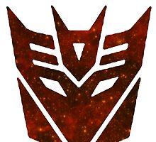 Red Galaxy - Decepticon by Glixio