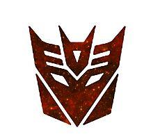 Red Galaxy - Decepticon Photographic Print