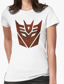 Red Galaxy - Decepticon Womens Fitted T-Shirt