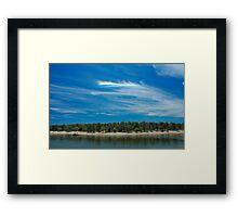 The Sky Breaks Open Framed Print