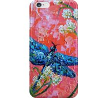 Impressionist Dragonfly iPhone Case/Skin