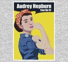 Audrey Hepburn can do it Kids Clothes