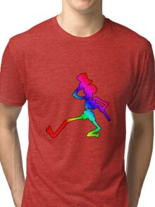Grateful Dead Dancing Skeleton Tri-blend T-Shirt